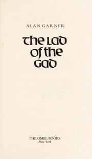 Cover of: The Lad of the Gad