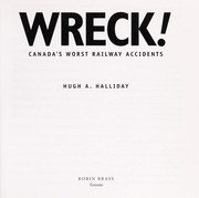 Cover of: Wreck! | Hugh A. Halliday