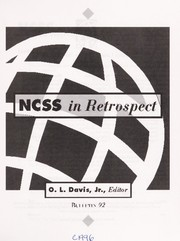 Cover of: Ncss in Retrospect (Bulletin (National Council for the Social Studies)) | O. L. Davis