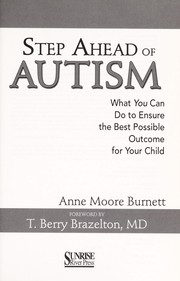 Cover of: Step ahead of autism