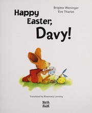 Cover of: Happy Easter, Davy! | Brigitte Weninger