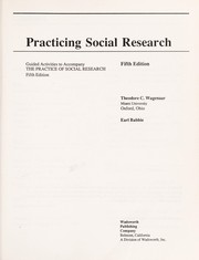 Cover of: Practicing Social Research | Babbie