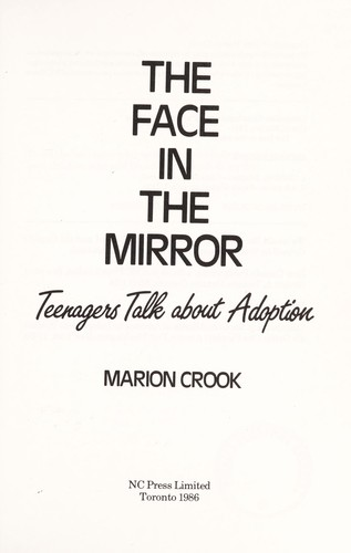 The face in the mirror by Marion Crook