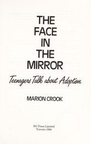 Cover of: The face in the mirror | Marion Crook