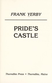Cover of: Pride's castle