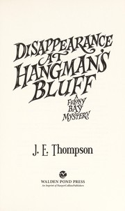 Cover of: Disappearance at Hangman