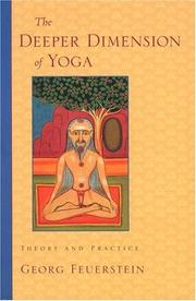Cover of: The Deeper Dimension of Yoga