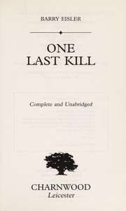 Cover of: One last kill