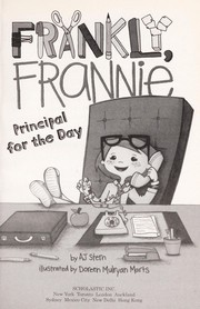 Cover of: Principal for the Day | A. J. Stern