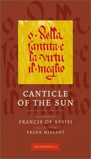 Cover of: Canticle of the Sun (The Calligrapher's Notebooks)