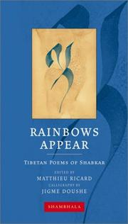 Cover of: Rainbows Appear | SHABKAR