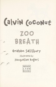 Cover of: Calvin Coconut | Graham Salisbury