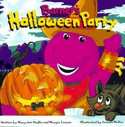 Cover of: Barney's Halloween party
