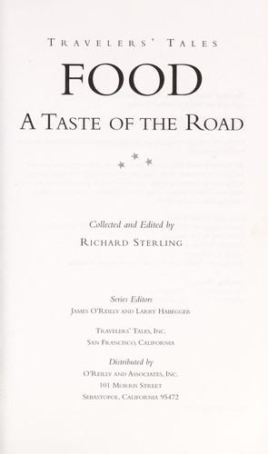 Food by collected and edited by Richard Sterling