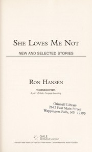 Cover of: She loves me not