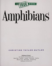 Cover of: Amphibians | Christine Taylor-Butler
