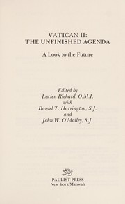 Cover of: Vatican II, the unfinished agenda