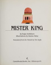 Cover of: Mister King