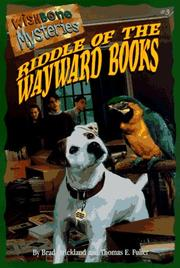 Cover of: Riddle of the wayward books | Brad Strickland