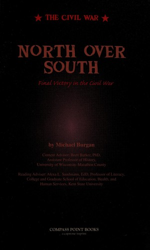North over South by Michael Burgan