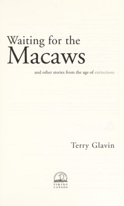 Cover of: Waiting for the macaws