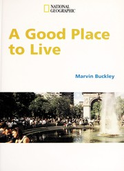 Cover of: A good place to live