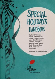 Cover of: Special holidays handbook |