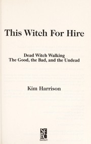 Cover of: This Witch for Hire