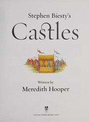 Cover of: Stephen Biesty's castles