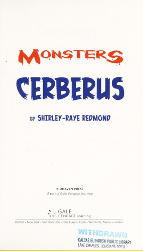 Cerberus by Shirley-Raye Redmond