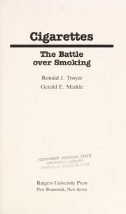 Cover of: Cigarettes | Ronald J. Troyer
