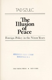 Cover of: The illusion of peace