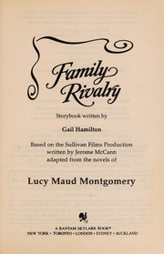 Cover of: Family Rivalry (Road to Avonlea, No 16) | Gail Hamilton
