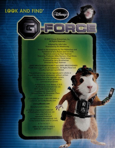 G Force 2009 Edition Open Library