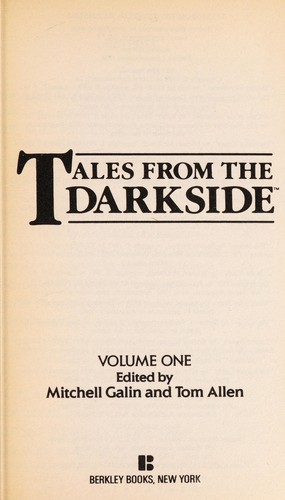 Tales From Darkside 1 by M. Galin
