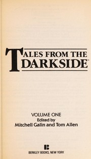 Cover of: Tales From Darkside 1 | M. Galin