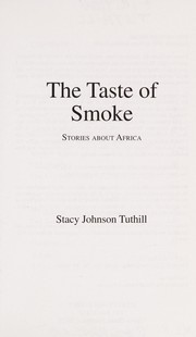 Cover of: The Taste of Smoke