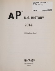 Cover of: AP U.S. history 2014