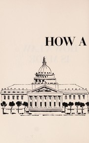 Cover of: How a law is made