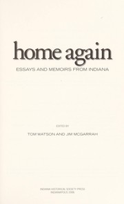 Cover of: Home again | edited by Tom Watson and Jim McGarrah.