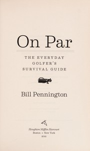 Cover of: On par