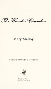 Cover of: The wonder chamber