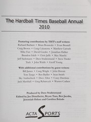 The Hardball times baseball annual, 2010