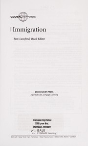Cover of: Immigration |