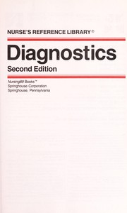 Cover of: Diagnostics