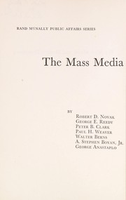 Cover of: The mass media and modern democracy