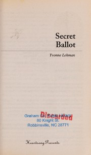 Cover of: Secret ballot