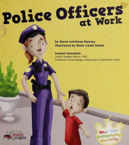 Police officers at work by Karen Latchana Kenney