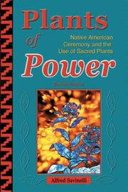 Cover of: Plants of Power | Alfred Savinelli