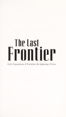 The Last Frontier by Jerry Savelle